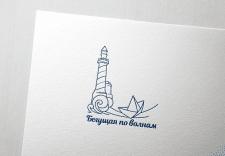 """Логотип персонального блога """"Бегущая по волнам"""""""