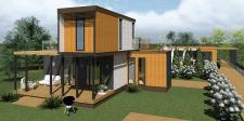 Проект дома из морских контейнеров