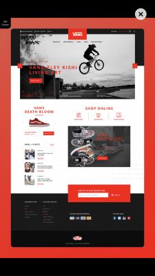 Vans ⎮Shoes Store⎮BM Design