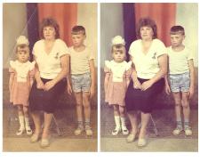 Реставрация фото (пример)