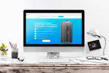 Landing Page для компании «Стекло ПРО»