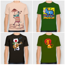 Принты для футболок (male)