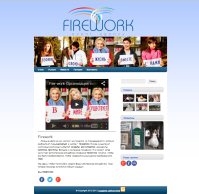 "Сайт-визитка ""Firework Event Agency"""