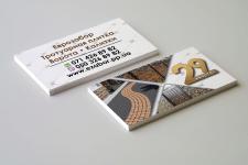 Визитки для производителей плитки и ворот