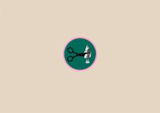 Логотип парикмахерского салона