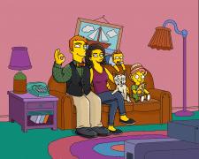 Портрет в стиле мультсериала The Simpsons