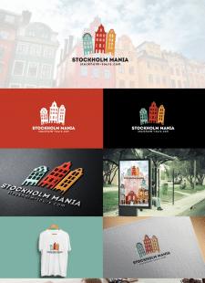 логотип для туристического агенства Швеции