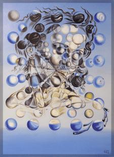 Свободная копия Dali Galatea of the Spheres