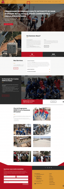 Веб-сайт для Yelhy Technology Africa