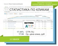 НАСТРОЙКА КОНТЕКСТА GOOGLE ADWORDS, ЯНДЕКС ДИРЕК