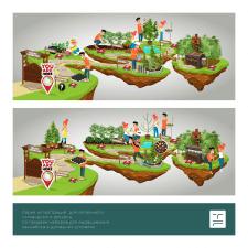 Иллюстрация для интерактивного ресурса