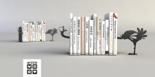 Дизайн держателя для книг. Дизайн Ателье Артикль.