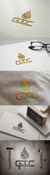 """Логоти компанії """"GTS wood"""""""
