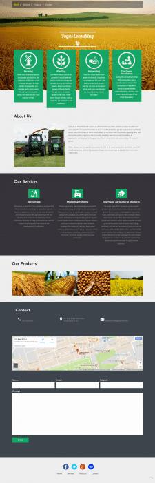 Pegas Consulting - сайт-визитка