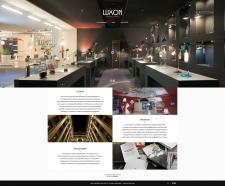 Luxon Web Site Redesign
