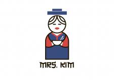 Логотип для продукции корейской кухни