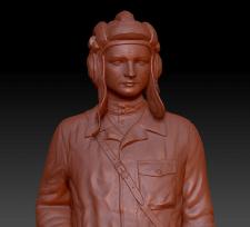 "3д-скульптура Кононова из ""На войне как на войне"""