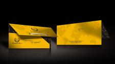 конверт для турагенства в фирменном стиле