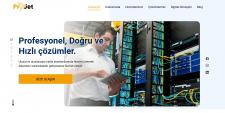 Сайт для фирмы оказывающей услуги в области связи