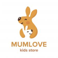 Дизайн логотипа для детских продуктов