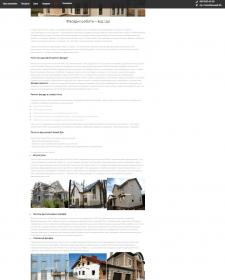 Наполнение украинской версии сайта статьями в блог