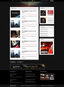 Главная страница блога