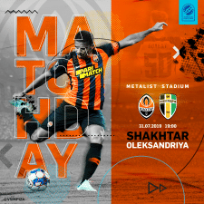 poster match day first round UPL