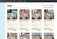 Заполнение интернет магазина на платформе WordPres