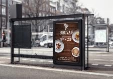 Дизайн ЛАЙТБОКСА для ресторана