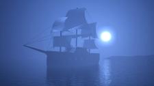 Корабль в 3d