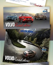 Пригласительное на мероприятие для компании Volvo