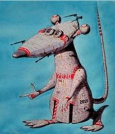 Год белой стальной крысы