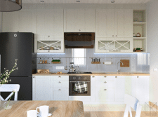 Дизайн кухни/гостиной студии