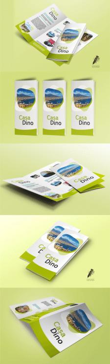 #Дизайн #Туристический буклет для мини-гостиницы#