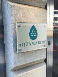 """Лого """"Aquamarine"""" для студии цвета"""