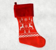 Дизайн рождественского носка