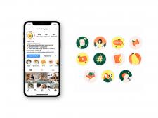 Иконки для приложения Mami.chat