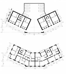 планы. многоквартирный дом