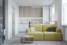 Дизайн проект квартиры 36м2 г. Киев