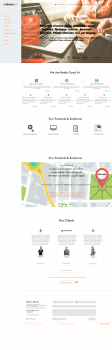 Дизайн сайта для it компании