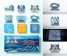 """Разработка логотипа """"Море капитанов"""" + этикетка"""