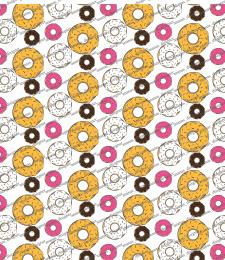 паттерн пончики