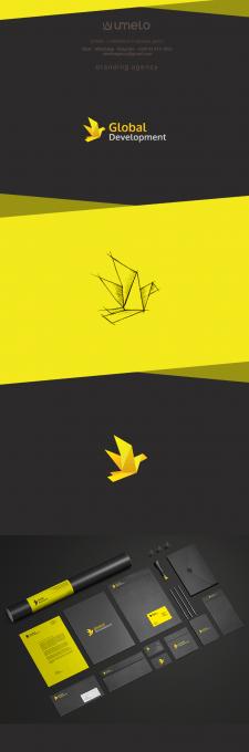 Дизайн логотипа Global Development
