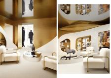 Concept luxury corner SANSHANT