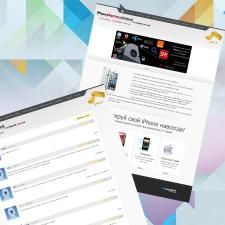 Разработка сайта по услугам разблокировки смартфон