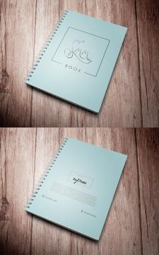 Дизайн обложки для планера