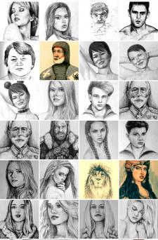 Портрет 2020 - III