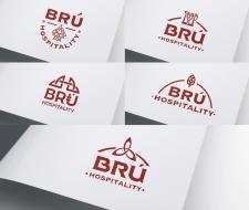 Разработка логотипа для Brú Hospitality