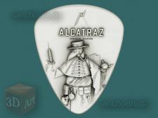 """3D-модель stl для ЧПУ """"ALCATRAZ""""."""