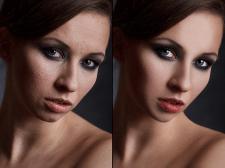 Ретушь фото до и после